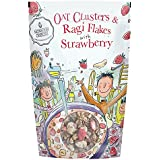 Monsoon Harvest Oats Clusters and Ragi Flakes with Strawberry, 350g