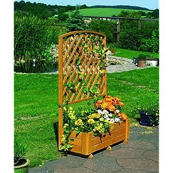 promex pflanzkasten rankkasten mit pergola k che haushalt. Black Bedroom Furniture Sets. Home Design Ideas