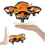 HELIFAR H803 Mini Drone, Drone Control Remoto con función de prevención de Infrarrojos, Control fácil de Gestos...