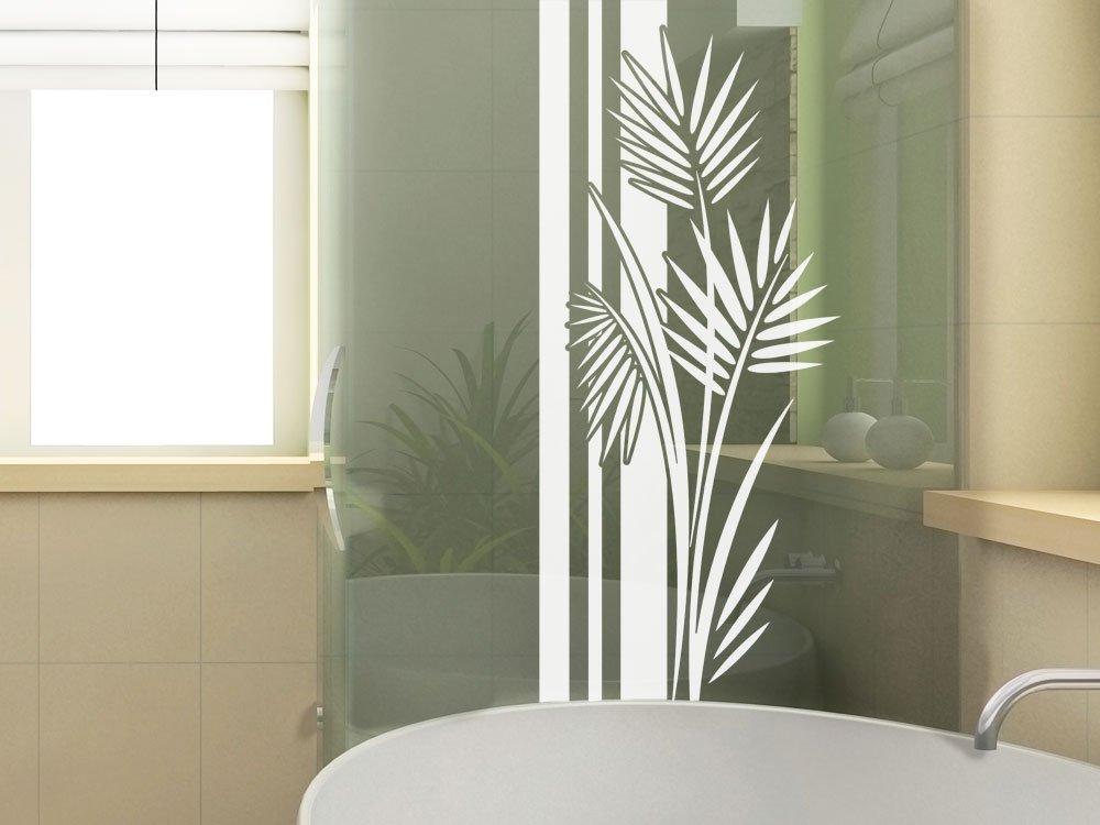 Glasdekor Fensterfolie Aufkleber Sichtschutz Bad Dusche Banner
