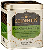 Best Organic Earl Grey Tea - Golden Tips Earl Grey Green Tea, 100g Review