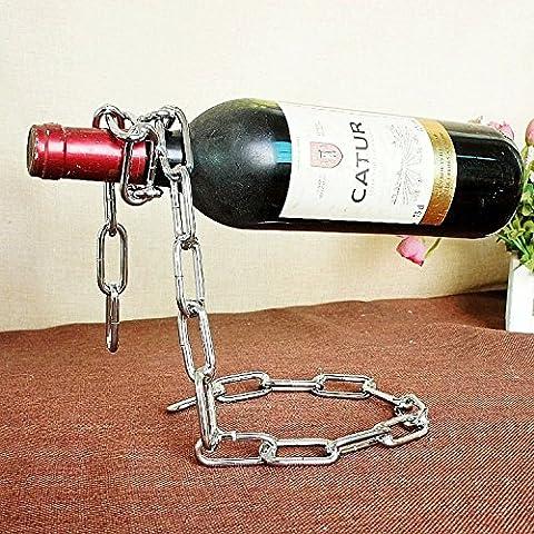 QUEEN'S Metallo cromato in acciaio inox continentale dell'annata creativa vino
