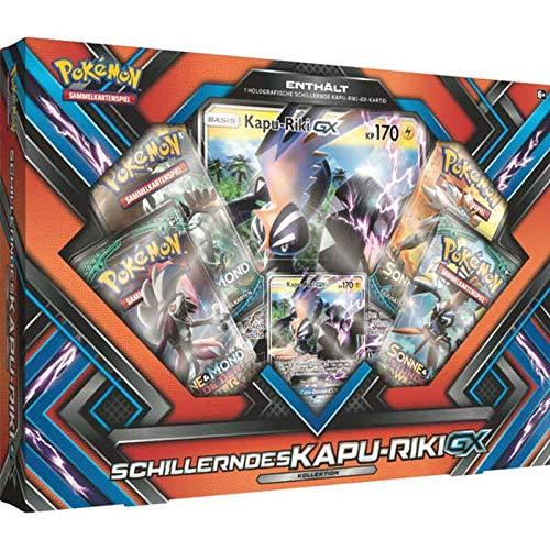 Lively Moments Pokemon Karten Schillerndes Kapu-Riki GX Kollektion DE Deutsch Promo Sammelkarten Spielkarten