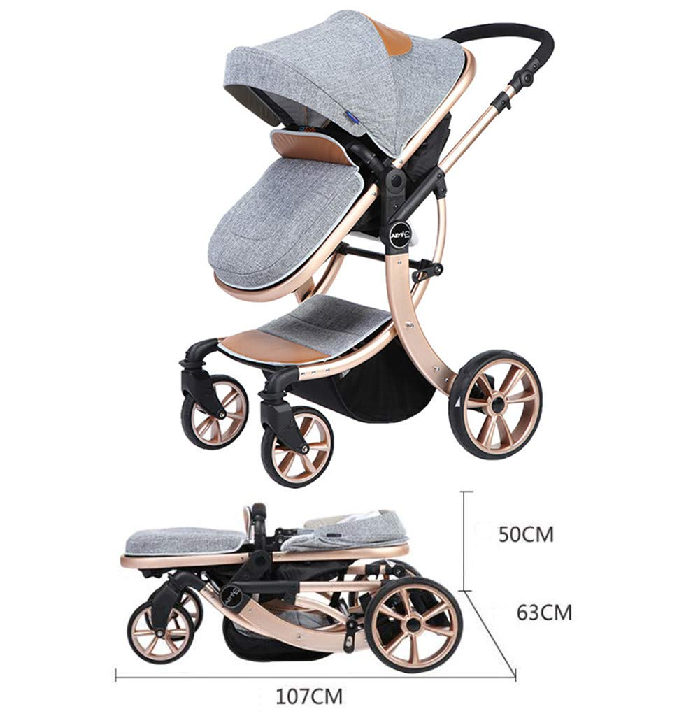 Lvbeis Newborn Pushchairs Baby Strollers Buggy Fold Prams  LIGHTWEIGHT & CONVENIENT: Lvbeis stroller is suitable for children from 3 to 36 months and accommodates children up to 40 pounds. MULTIPLE POSITION RECLINING SEAT: Three positions can be adjusted, sitting mode, semi-lying mode, and full lying mode. LOCKABLE SWIVEL WHEELS: shock absorbing front wheels and foot-activated rear brake system, you can control it easily. It provides you a smooth ride over all types of everyday terrain 6
