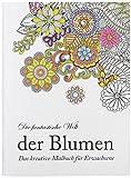 Idena Malbuch, Papier, Blumen
