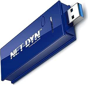 Net Dyn Dual Band Usb Wlan Stick Ac1200 Plug N Play Computer Zubehör