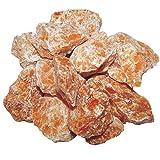 Orchideen / Feuer Calcit 1 kg Rohsteine Wassersteine Brunnensteine