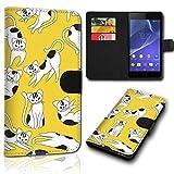 sw-mobile-shop Book Style Wiko Sunset 2 Tasche Flip Brieftasche Handy Hülle Kartenfächer für Wiko Sunset 2 - Design Flip NEW14