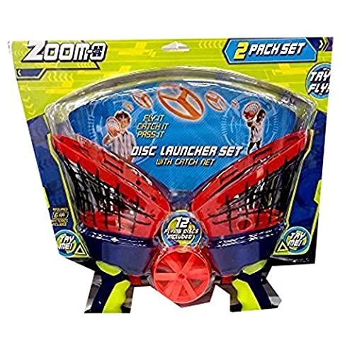 Zoom-O Disc Launcher Set (Colors Vary) by Zoom-O