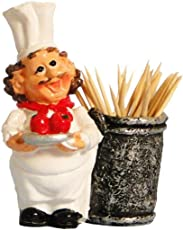 Lily Moon Poly Resin Chef Toothpick Holder(F)