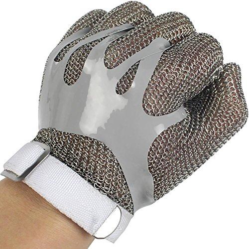 e6cc8bb270171a JZDCSCDNS Stahlring Handschuhe Anti-Kratz Anti-Zerreißen  Korrosionsbeständig Persönlicher Schutz.