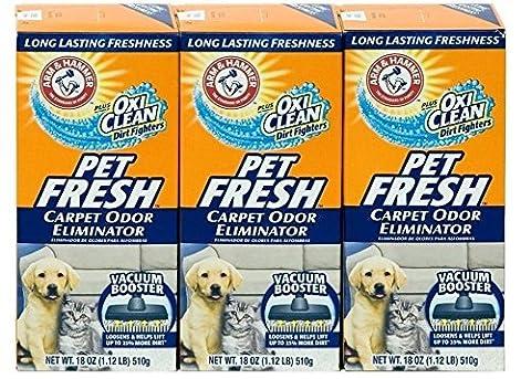 Arm & Hammer Pet Fresh Carpet Odor Eliminator Plus Oxi Clean Dirt Fighters by Arm & Hammer