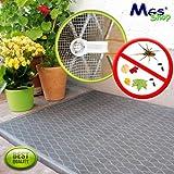 MGS SHOP® - Pozzo luce con griglia in fibra di vetro, 150 x 100 cm