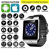 Easypro™ Bluetooth Smart Watch DZ09 Phone With Camera And Sim Card & SD Card Support With Apps Like Facebook And WhatsApp Touch Screen Multilanguage Android/IOS Mobile For Karbonn Aura Sleek 4G