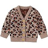 TOUSHIUHUS Baby Jungen Winter V-Ausschnitt Pullover Herbst l/ässig Kleinkind Strickjacke Winter warm gestrickt Langarm Colthes
