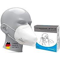 10x FFP3 Atemschutzmaske Zertifiziert Made IN Germany FFP3 Maske Staubschutzmaske Atemmaske Staubmaske 10 Stück verpackt…
