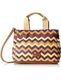 GERRY WEBER Sunrise Handbag L - Bolso de asas de Material Sintético para mujer Morado Violett (purple 350) 34x21x23 cm (B x H x T)