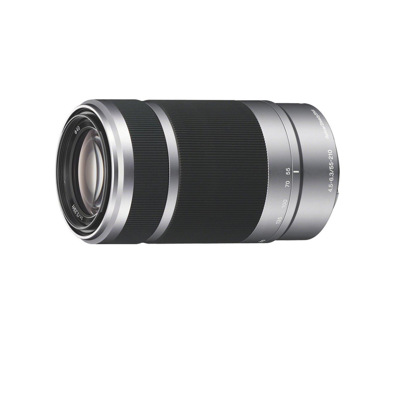 Sony SEL-55210 Tele-Zoom-Objektiv 55-210mm silber