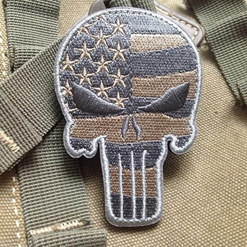 vanker-craneo-tipo-punisher-tactico-militar-patch-cinta-ejercito-insignia-del-brazal-rayas-grises