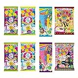 Die Umhüllung ninjapo Kracie Japanische DIY Candy Nerunerunerune ein Satz: Sortiert Neruneru Serie insgesamt 8 Kits