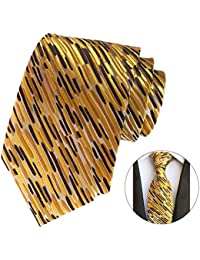 Fascigirl Business Necktie Decorative Polyester Classic Tie Formal Necktie for Men