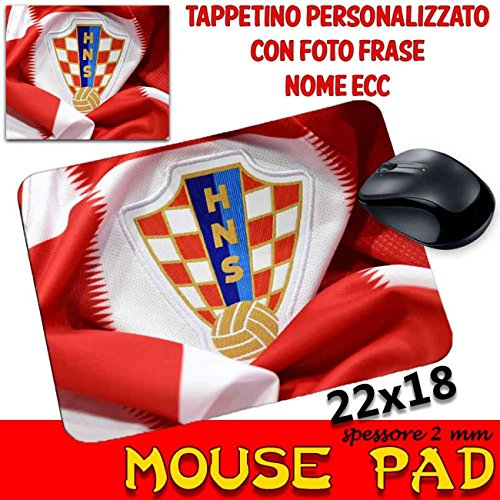 Maus Pad Croazia Republika Hrvatska Croatia Calcio Mondiali Trikot -