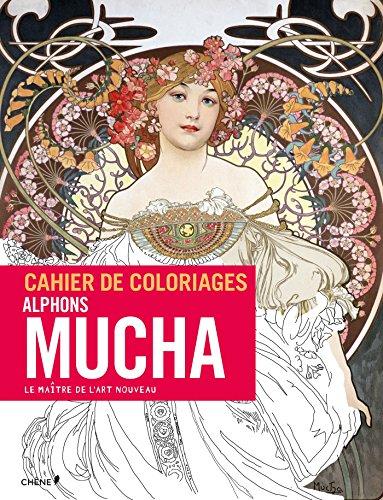 Cahier de coloriages Mucha