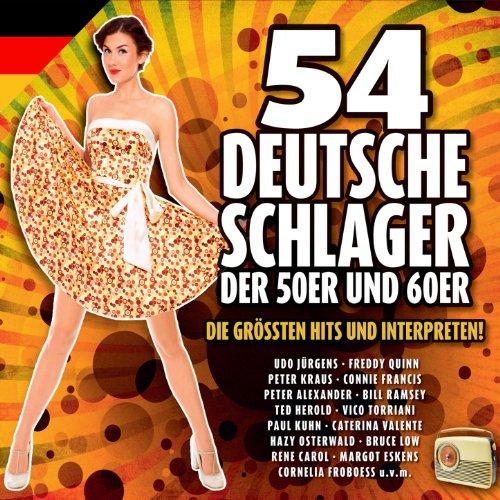 54 deutsche schlager der 50er und 60er jahre von various for Kuchenschranke 50er jahre