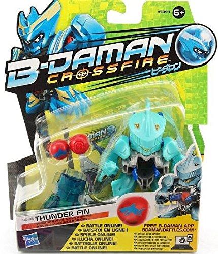 B-Daman Crossfire Thunder Fin BLU