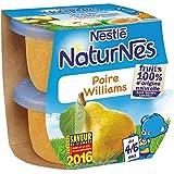 Nestlé naturnes poire william 2x115g dès4/6 mois - ( Prix Unitaire ) - Envoi Rapide Et Soignée