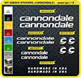 Stickers vélo Merida Kit stickers 24pièces-Choisir immédiatement Colore- Bike Cycle pegatina Cod.0104, Bianco cod. 010