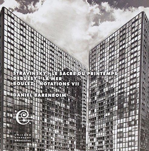 Stravinsky : Le Sacre du Printemps - Debussy :  La Mer - La Mer : Notations VII [Import anglais]
