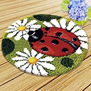 Carpet Embroidery, Handmade Latch Hook Kit Diy Rug Animal