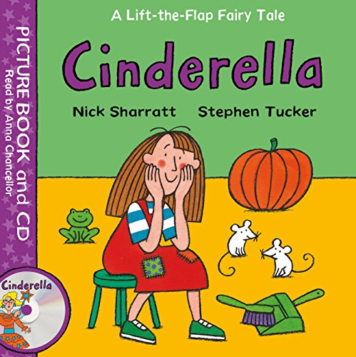 Cinderella: Book and CD Pack (Lift-the-Flap Fairy Tales)