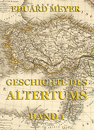 Geschichte des Altertums, Band 1