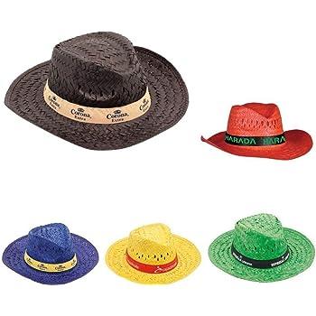 Subito disponibile STOCK 10 PEZZI Cappello Sombrero in paglia vari colori  per feste party e 106ba5c0c984