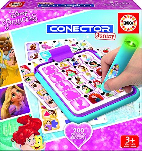 Educa borrás–17200.0–Conector Junior Disney Prinzessinnen (Disney Princess Quiz)