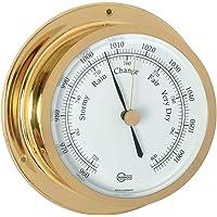 Barigo Star 1185 Barometer brass 110 mm x 45 mm