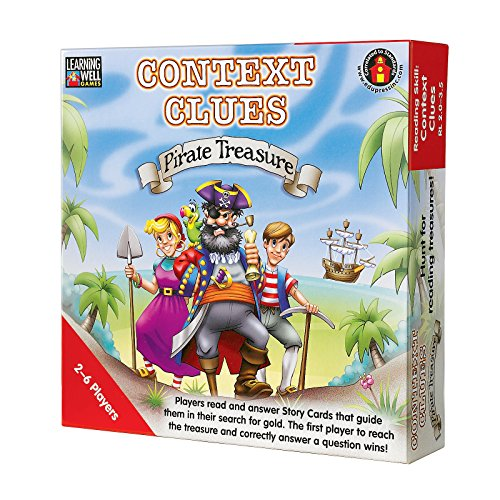 CONTEXT CLUES PIRATE TREASURE RED -