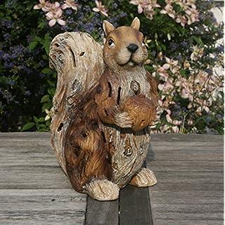 Garden Animals Collection stewy, die Eichhörnchen-Statue/Ornament