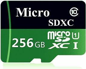 weiluop Micro SD Karte 256GB, microSDXC 256GB Class 10 Speicherkarte + Adapter