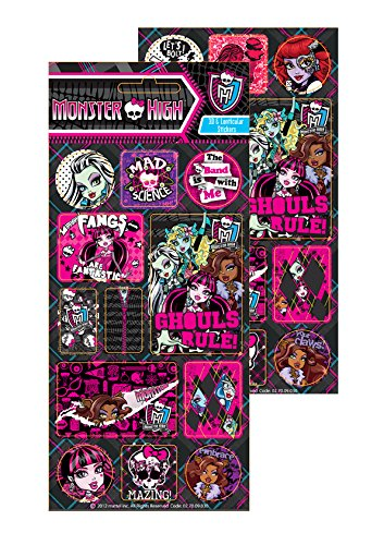 Official Monster High 3D Lenticular Sticker Pack Monster High Sticker