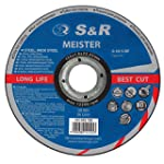 S&R Trennscheibe für Metall, Stahl, E...