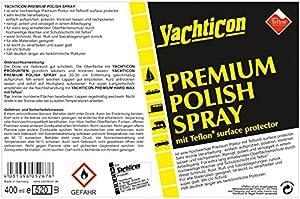 Yachticon Premium Polish Spray mit Teflon® surface protector 400ml