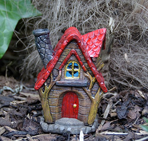 Fairy Home/Cottage/Haus Räuchergefäß–oder Garten Decor der Weiden