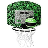 KIPSTA MINI B BASKETBALL BACKBOARD SET - GREEN BLACK