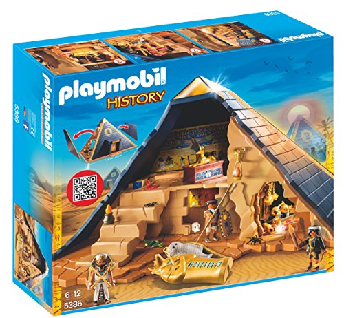 playmobil-5386-history-egyptian-pharaohs-pyramid-with-many-hidden-tombs-and-traps-playset