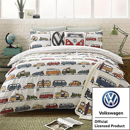 Volkswagen VW Camper Spaß Multi-Bettbezug, multi, Einzelbett