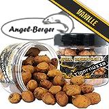 Assortiment de noix tigrées Angel Berger - Appâts de pèche - Pot de 100 g, vanille
