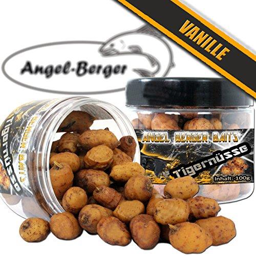 Angel Berger Baits Tigernüsse verschiedene Sorten Tigernuts Tigernuss (Vanille)